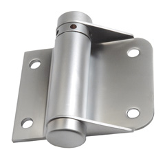 1 x 1 Bolt Through Stainless Steel Spring Hinge, no fixings