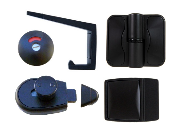 Designer Series: Black Moda Hardware Set