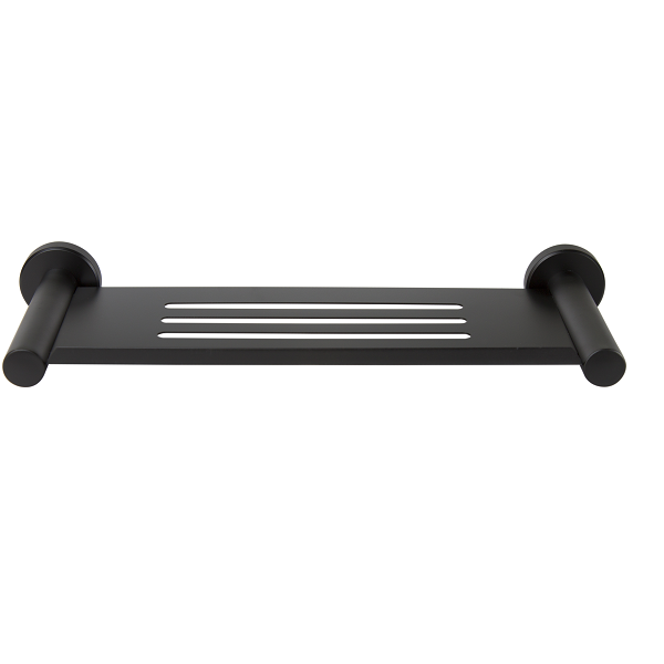 Designer Black - Bathroom Shelf/Soap Dish