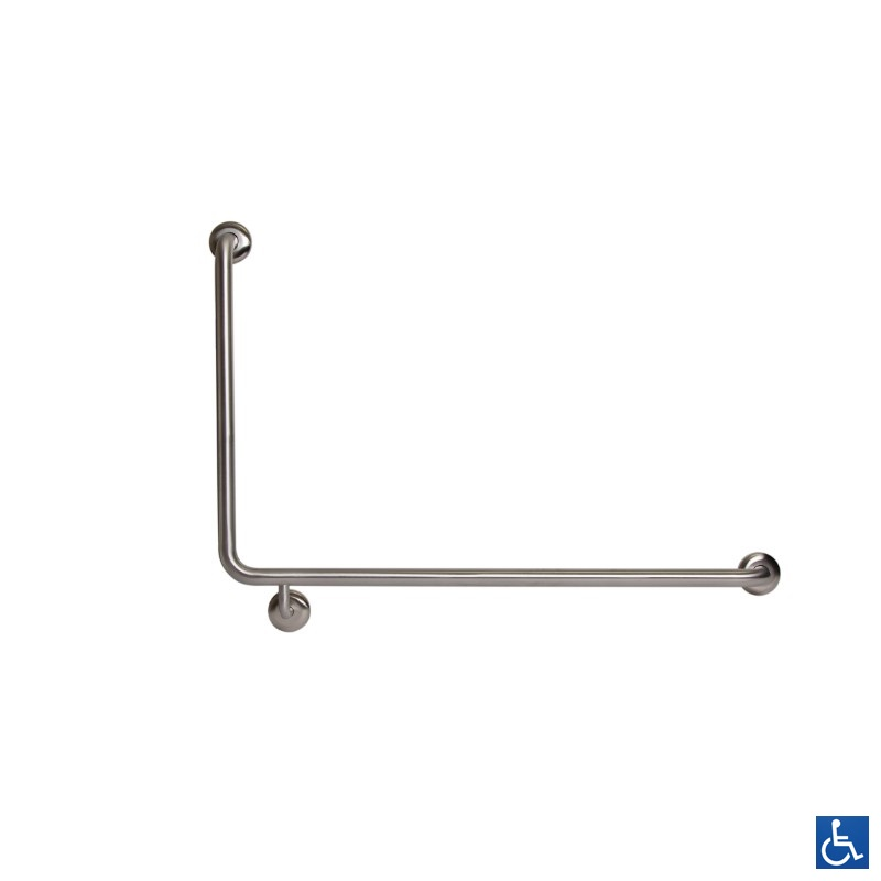 Antimicrobial Disabled Grab Rail 90deg R/H
