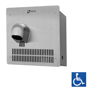 Recessed Stainless Steel Auto Hand Dryer