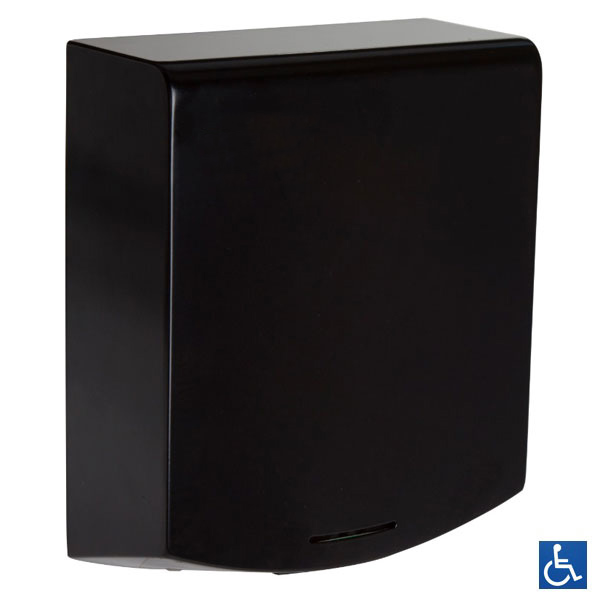 Designer Black Automatic Hand Dryer