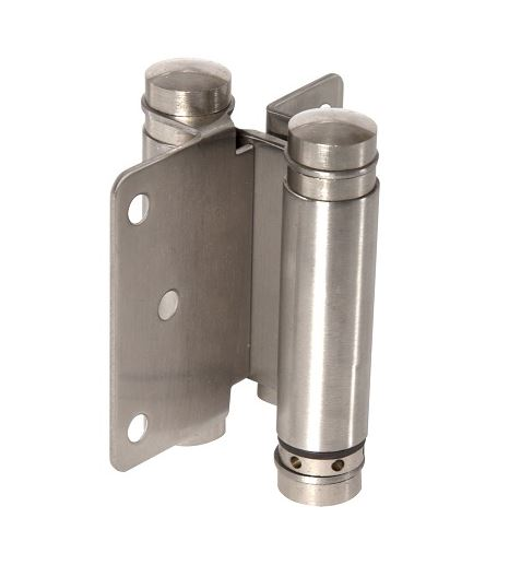 1 x Stainless Steel Double Action Spring Hinge