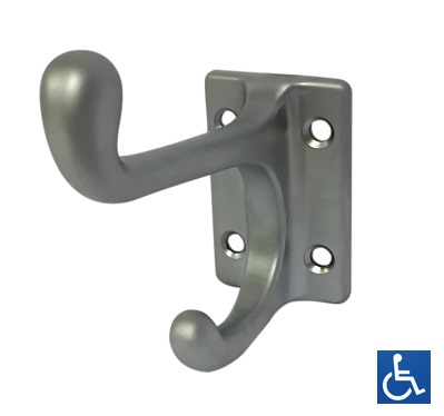 Dual Chrome Coat Hook