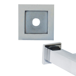 Paterson Series: Stainless Steel Square Mounting Plate