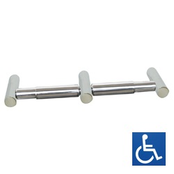 Lawson Series: Stainless Steel Dual Toilet Roll Holder