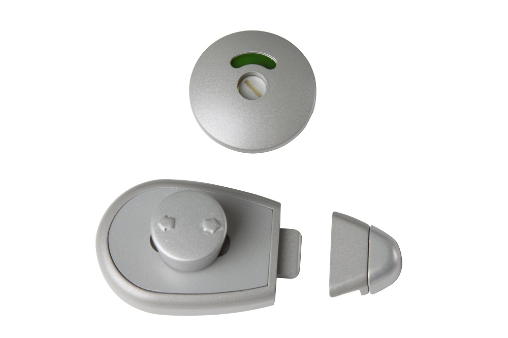 Antimicrobial XCEL Slide Lock & Indicator Set
