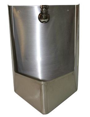 Pointed Single Wall Hung Urinal