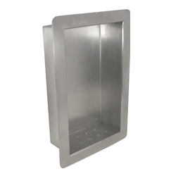 Stainless Steel Recessed Heavy Duty Soap Holder