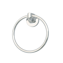Sturt Series: White or Chrome Towel Ring