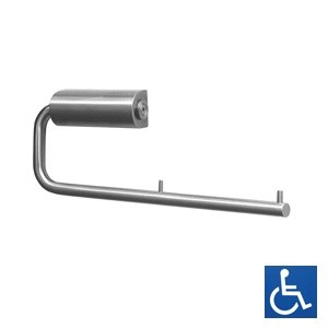 Stainless Steel Dual Toilet Roll Holder