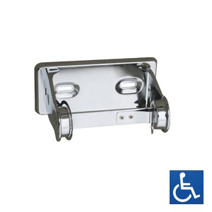Chrome Steel Toilet Roll Holder