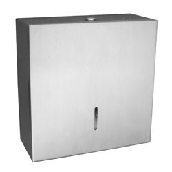 Jumbo: Lockable Square Toilet Roll Holder