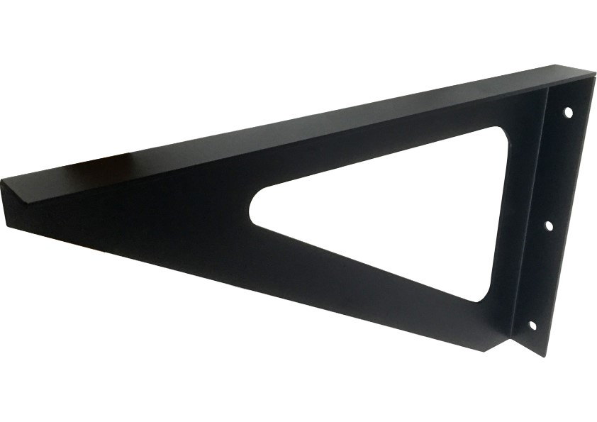 Amazon Series Black: 400mm Bench Seat Bracket