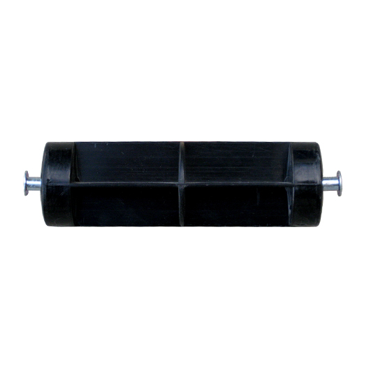 Black ABS Toilet Roll Roller