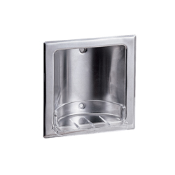Recessed Soap Dish SS with Bright Finish