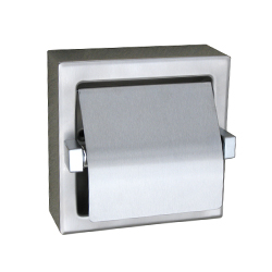 Hooded Single Toilet Roll Holder