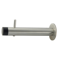 Coat Hook with Bumper 90mm - SSS
