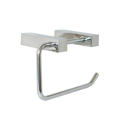 Paterson Series: Single Toilet Roll Holder- Square Mount  - PSS