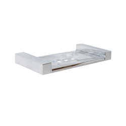 Paterson Series: Stainless Steel 160mm Square-Mount Soap Dish
