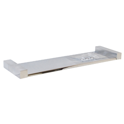 Paterson Series: Combined Shelf & Soap Dish 450mm - Round Mount - PSS