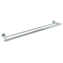 Lachlan Series: Towel Bar Double 700mm - Bright Chrome