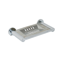 Lachlan Series: Soap Dish 160mm - Bright Chrome