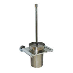 Lachlan Series: Toilet Brush & Holder - Bright Chrome /SS
