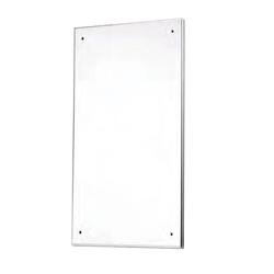 Nylon Back, Polished Stainless Steel Mirror