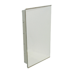 Lockable Stainless Steel Medicine Cabinet & Safety Glass Mirror