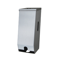 Stainless Steel Lockable Dual Toilet Roll Holder