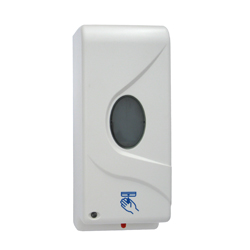 Automatic Hands Free Soap Dispenser - White ABS