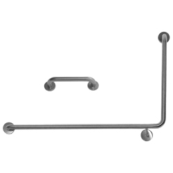 Antimicrobial Disabled Grab Rail 90deg L/H