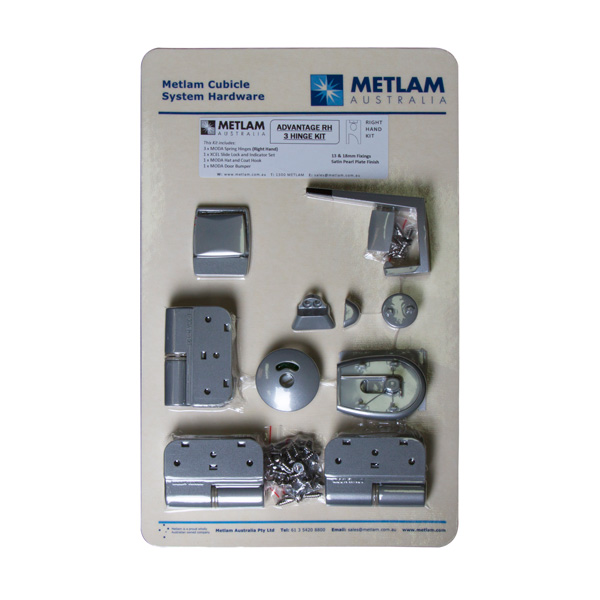 Advantage Toilet Partition Hardware Kit