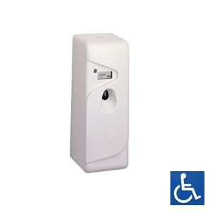 White ABS Auto Air Freshener