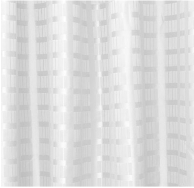 Shower Curtain Box Stripe Polyester